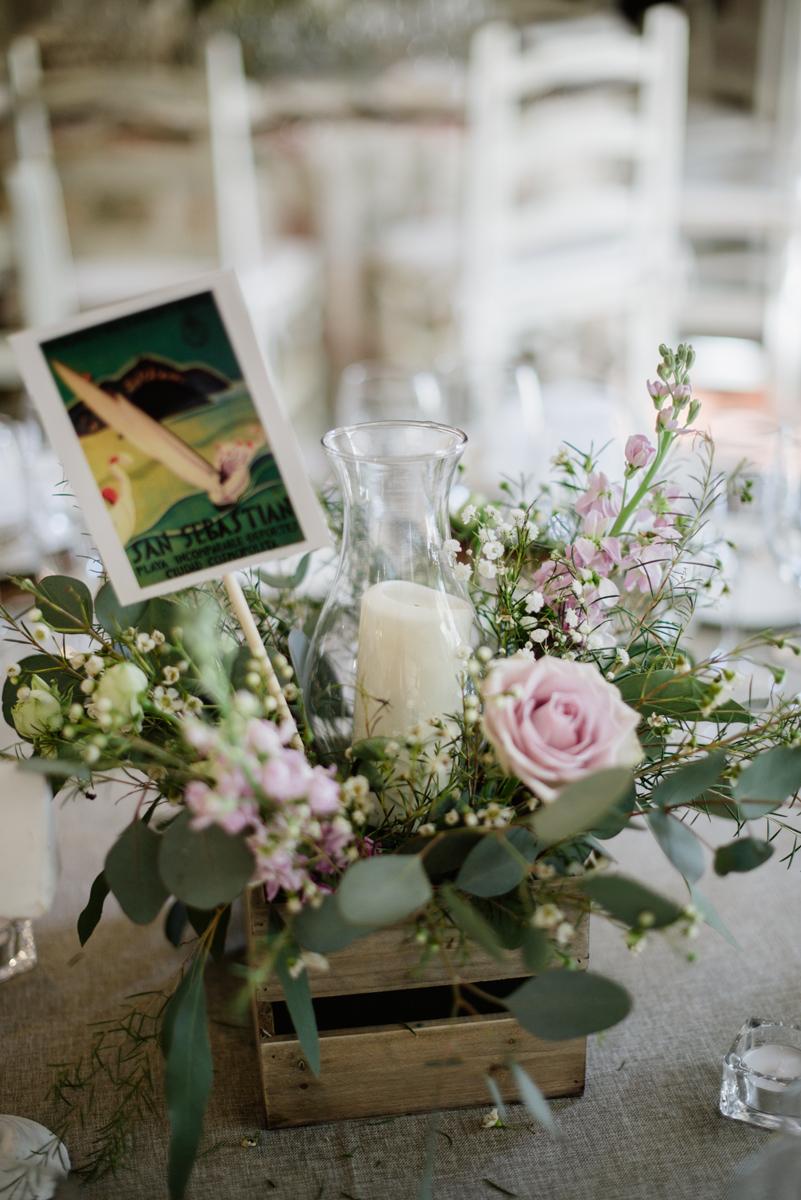 centros mesa ciudades boda