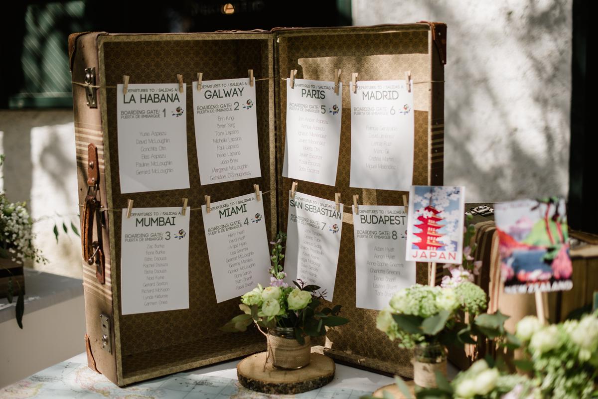 maletas vintage boda