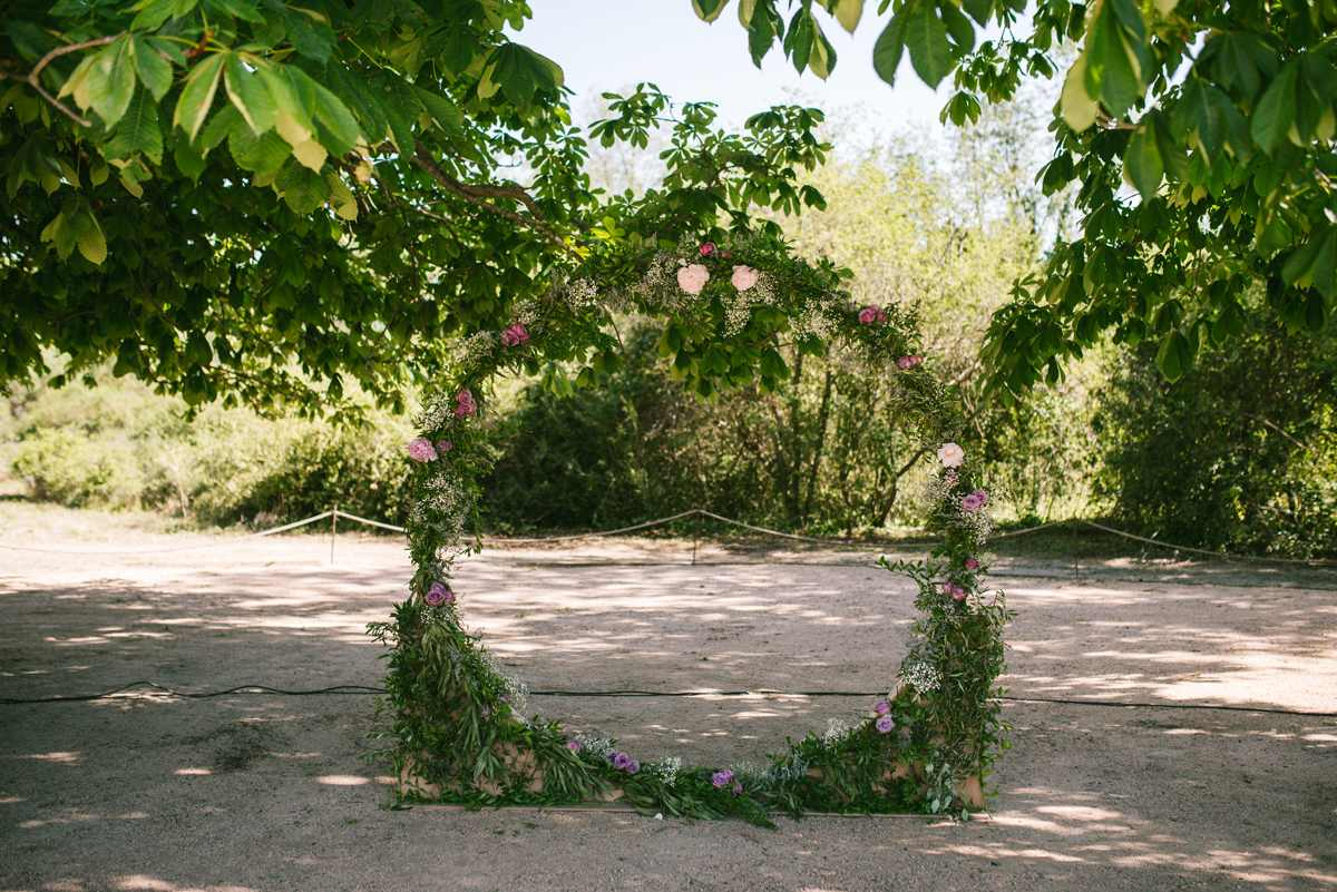 arco flores boda circular_ceremonia