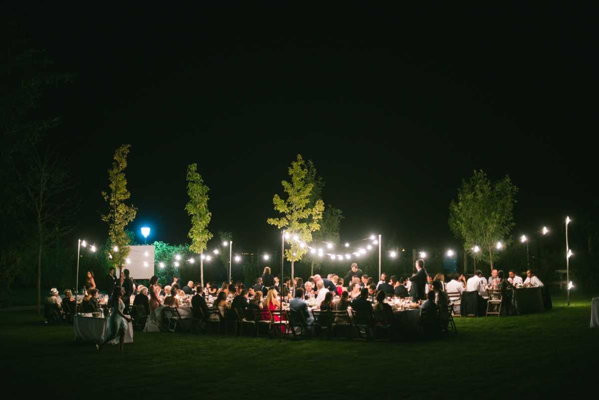 boda guirnaldas luces iluminación