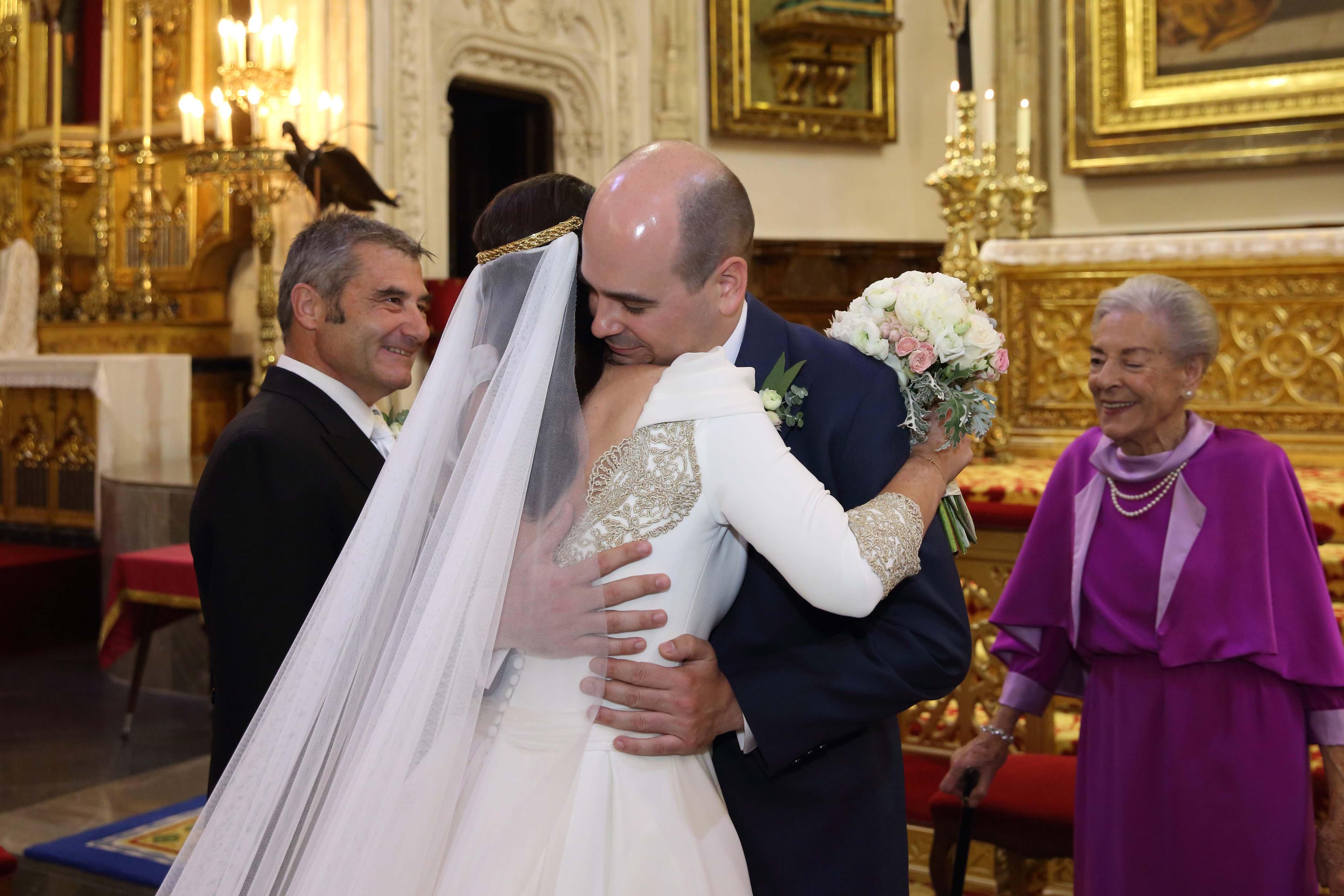 llegada novia altar
