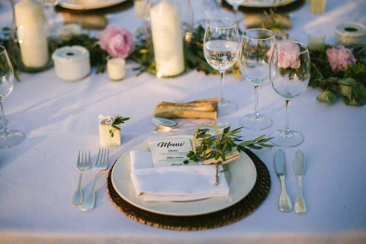 mesa boda rústica las margas