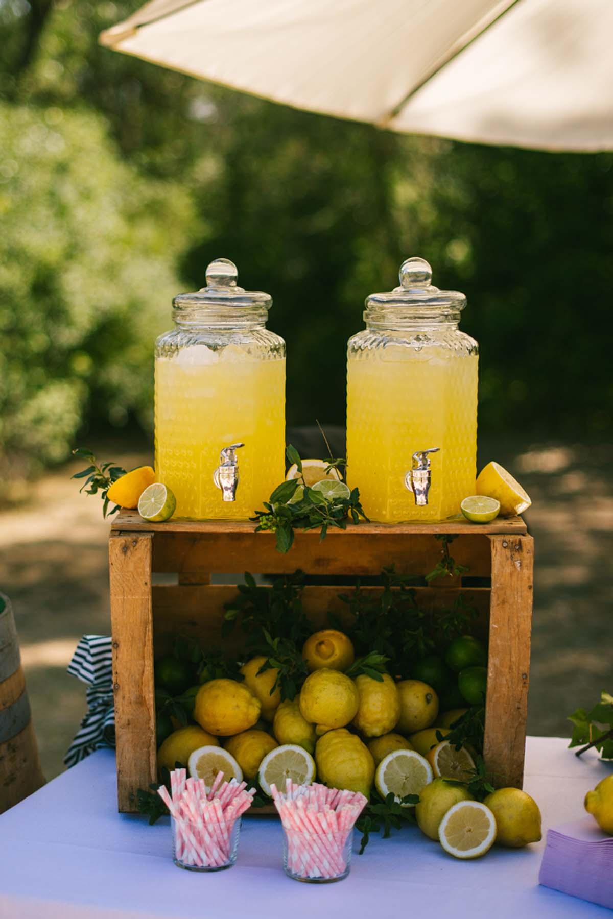 mesa limonada boda las margas decoración_
