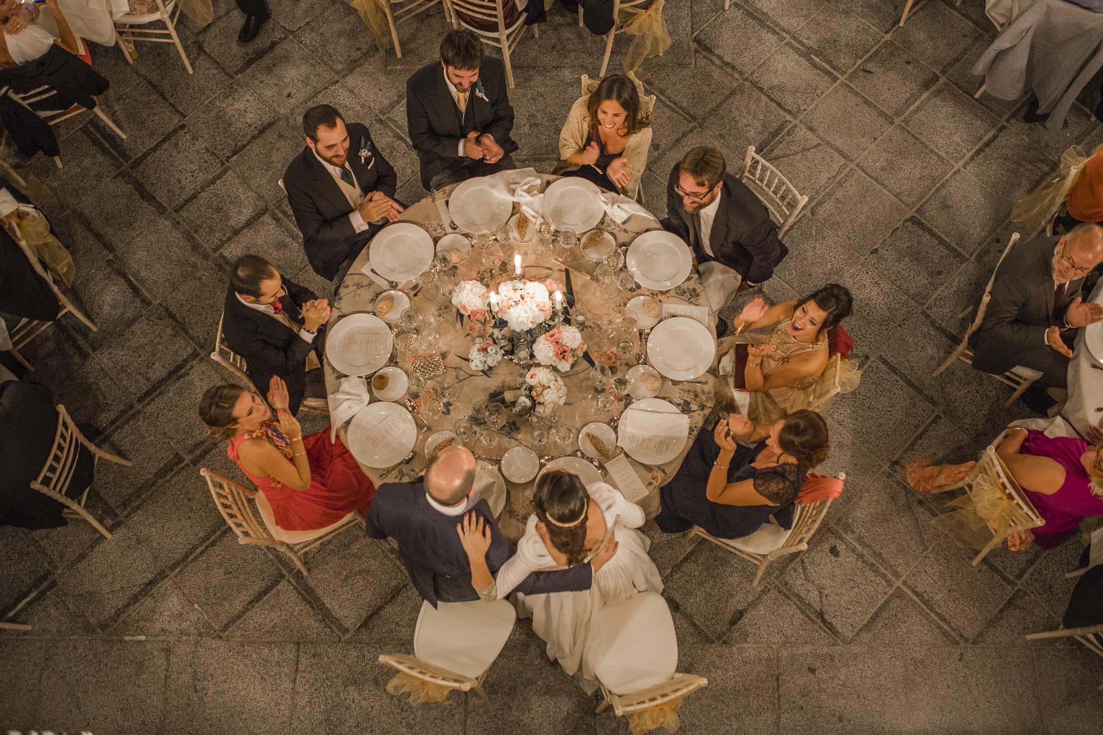 mesa novios_cena_boda romántica y vintage_bodasomethingblue